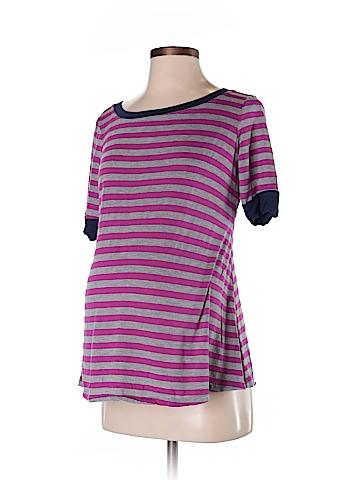 Three Seasons Maternity 3/4 Sleeve T-Shirt Size S (Maternity)