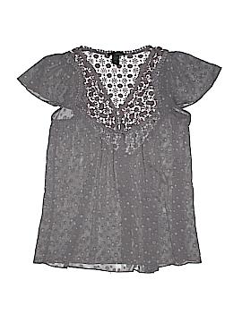 Rain Short Sleeve Blouse Size L