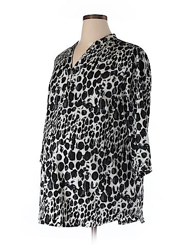 Liz Lange Maternity for Target 3/4 Sleeve Blouse Size XXL (Maternity)