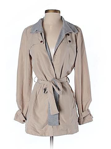 Waverly Grey Trenchcoat Size 2