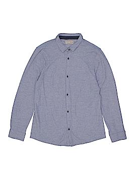 Zara Long Sleeve Button-Down Shirt Size 13