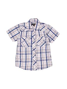 Gioberti Short Sleeve Button-Down Shirt Size 4