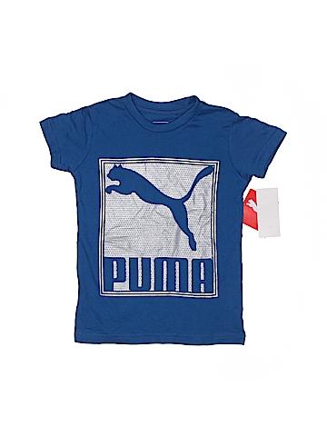 Puma Short Sleeve T-Shirt Size 4