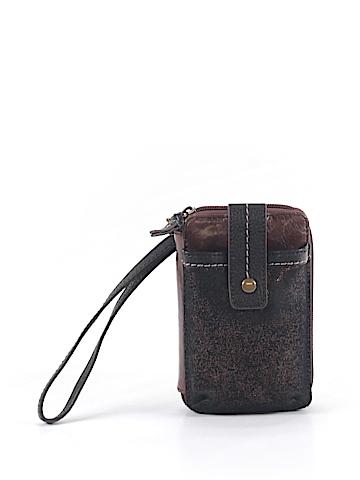 The Sak Leather Wristlet One Size