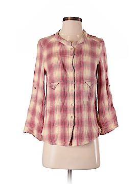 IRO Long Sleeve Button-Down Shirt Size Sm (1)