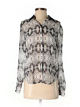 Armani Exchange Long Sleeve Blouse Size S