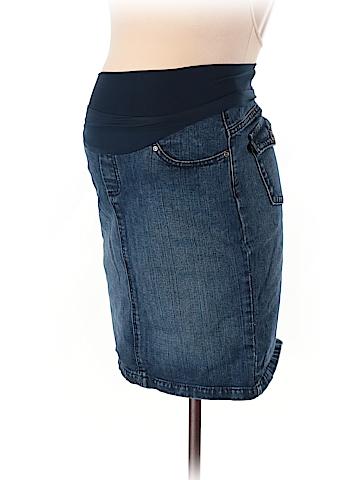Mimi Maternity Denim Skirt Size M (Maternity)