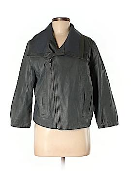 Hurley Leather Jacket Size M