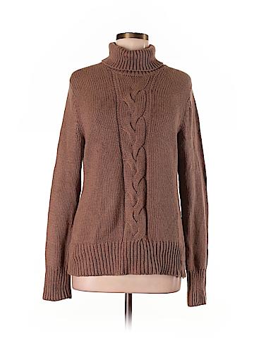 Lands' End Canvas Turtleneck Sweater Size M