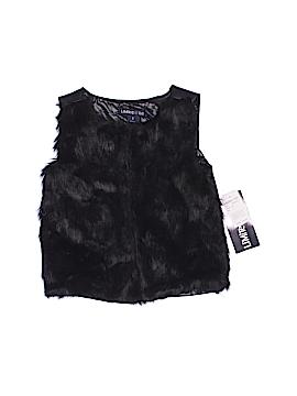 Limited Too Faux Fur Vest Size 5