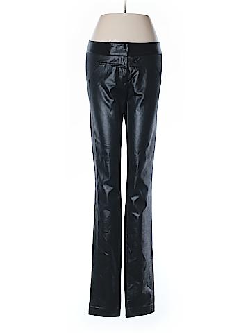 Diane von Furstenberg Faux Leather Pants Size 6