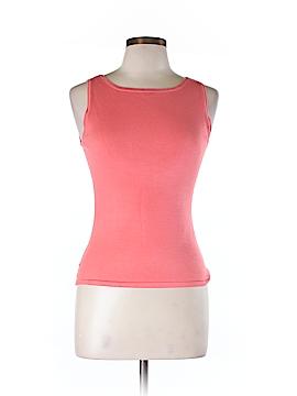 Jessica Howard Sleeveless Silk Top Size 6 (Petite)