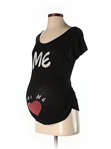 Robin's Nest Short Sleeve T-Shirt Size S (Maternity)