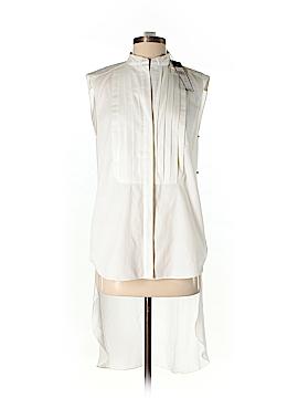 BCBGMAXAZRIA Sleeveless Button-Down Shirt Size XXS