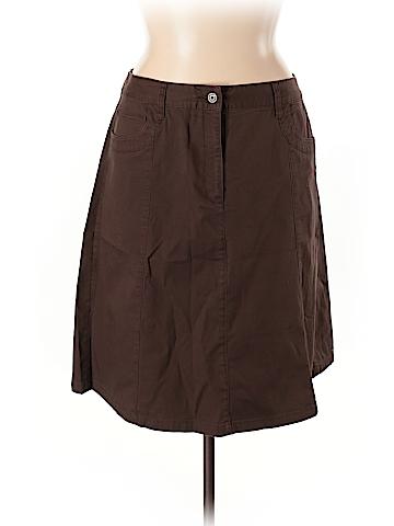 Talbots Denim Skirt Size 14