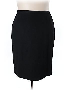 Linda Allard Ellen Tracy Casual Skirt Size 24 (Plus)