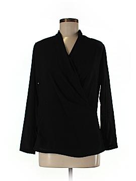 Linda Allard Ellen Tracy Long Sleeve Blouse Size 6