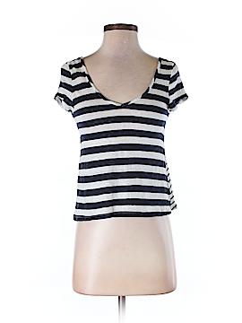 Color Thread Short Sleeve T-Shirt Size M