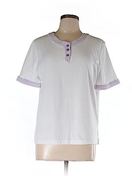 Southern Lady Short Sleeve Henley Size L