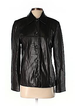 JLC New York Leather Jacket Size S