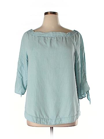 Saks Fifth Avenue 3/4 Sleeve Blouse Size XL