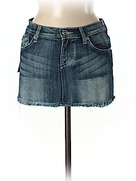 Victoria Beckham for Rock & Republic Denim Skirt 28 Waist