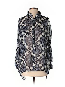 Sans Souci Long Sleeve Blouse Size XS