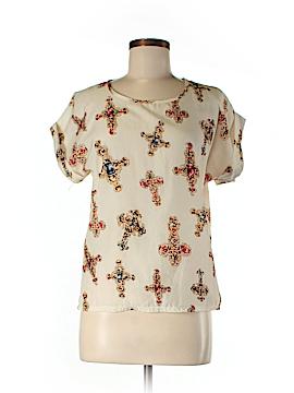 Liva Girl Short Sleeve Blouse Size M