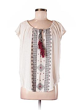 BCBGMAXAZRIA Short Sleeve Top Size M (Petite)