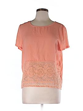 Umgee Short Sleeve Blouse Size M