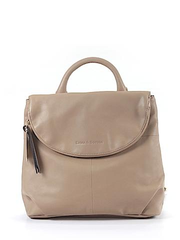 Emma & Sophia Leather Backpack One Size