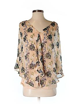 Aryn K. Short Sleeve Silk Top Size XS