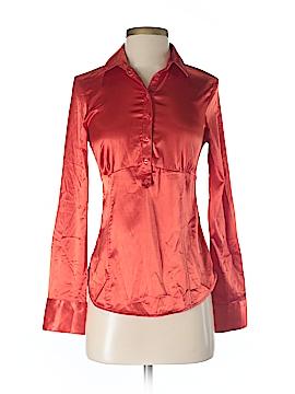 Zara Basic Long Sleeve Blouse Size XS