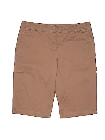 New York & Company Women Khaki Shorts Size 10