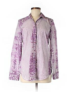 Kelly Wearstler Long Sleeve Button-Down Shirt Size 6