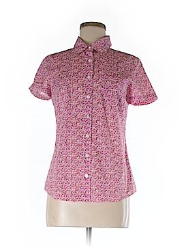 Liberty Art Fabrics for J. Crew Short Sleeve Button-Down Shirt Size 2
