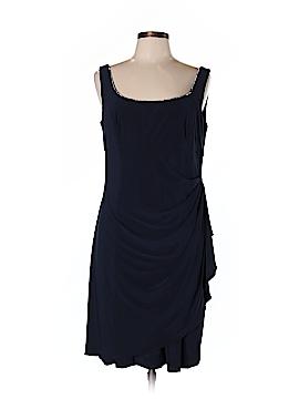 Alex Evenings Casual Dress Size 14 (Petite)