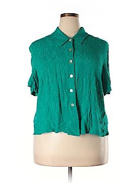 KSL Short Sleeve Blouse Size 24 (Plus)