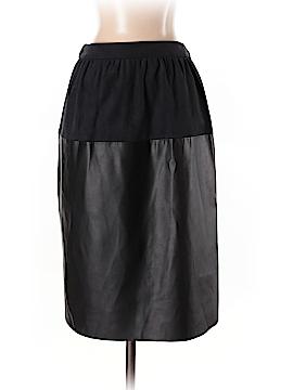 Zara Basic Faux Leather Skirt Size 5