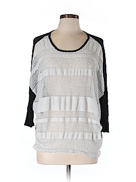 Le Lis 3/4 Sleeve Blouse Size L