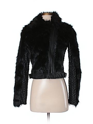 Six Crisp Days Faux Fur Jacket Size S
