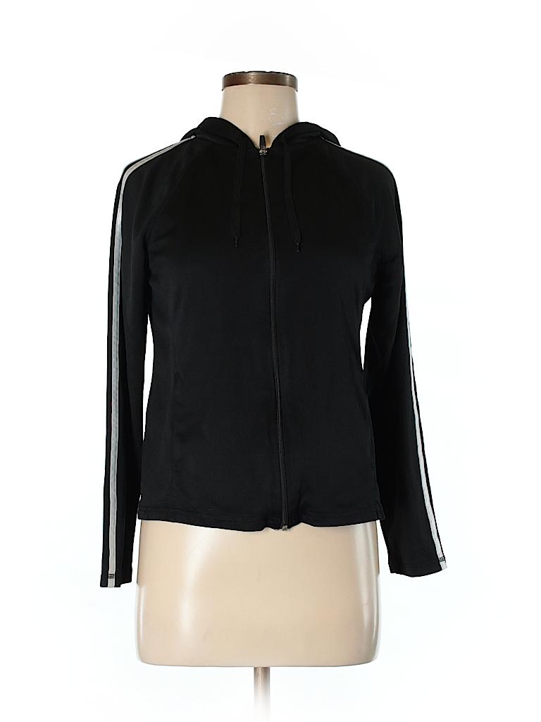 ecc1c5b678fe C9 By Champion 100% Polyester Stripes Black Track Jacket Size M - 64 ...