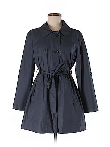 Garnet Hill Trenchcoat Size 8 (Petite)