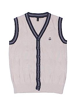Benetton Class Cardigan Size 6-7