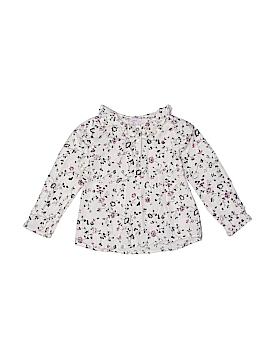 Moon et Miel Long Sleeve Button-Down Shirt Size 4