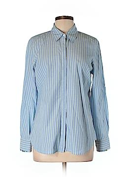 Charter Club Long Sleeve Button-Down Shirt Size L