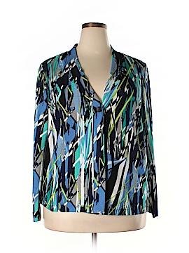 Liz Baker Cardigan Size XL-one button cardigan