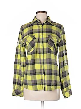 Butter Long Sleeve Button-Down Shirt Size M