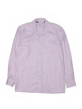 Ragazzo Uomo Long Sleeve Button-Down Shirt Size 14