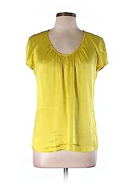 ETRO Short Sleeve Silk Top Size 46 (IT)